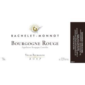 Bachelet Monnot Bourgogne Rouge 2017